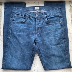 Hudson Byron Straight Jeans - Color: Mill Size 33